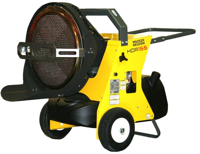 Wacker Hdr 155 Heater Diesel Rentals San Antonio Tx Where To Rent
