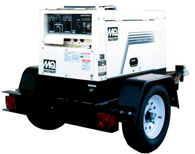 500 amp trlr mounted diesel welder rentals San Antonio TX