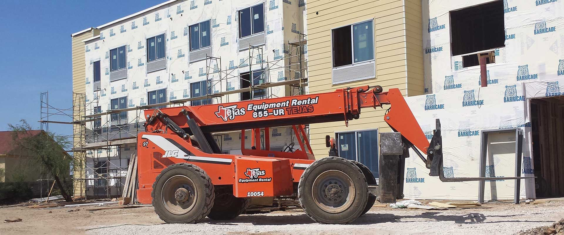 Telehandler Equipment Rentals in South Texas