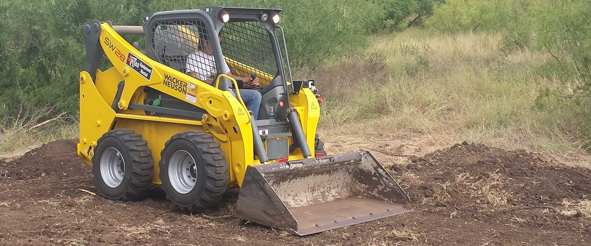 Skid Steer Rentals in the Rio Grande Valley